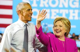 clinton's team reportedly has someone new to blame for election loss: barack obama