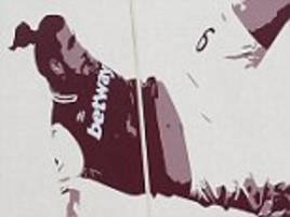 west ham replace dimitri payet mural at london stadium
