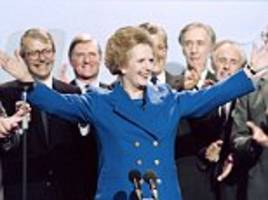 tony blair's generation has adopted thatcherite values
