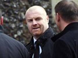 burnley boss sean dyche 'parks' affection for watford