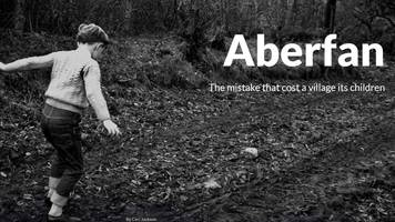 global award for bbc's commemoration of aberfan disaster