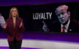 video: samantha bee examines trump's ever-expanding enemies list & toxic loyalty