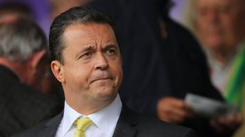 jez moxey: norwich city chief executive resigns