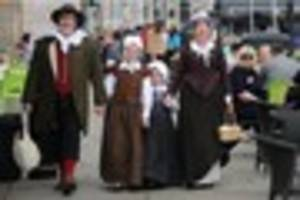 plymouth's pilgrim re-enactment group is 'running out of money'