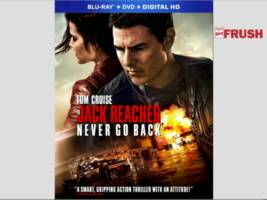 """tom cruise's jack reacher: never go back blu-ray: """"bonus features will blow you away!"""""""