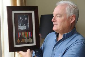 strathaven man to retrace pow hero dad's steps to mark fall of singapore anniversary