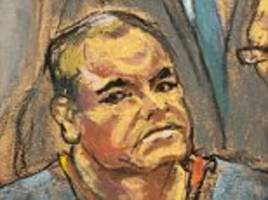 el chapo appears in court and smiles at his wife