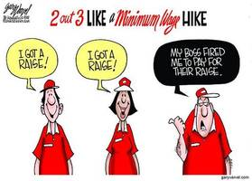 state minimum wage hikes already passed into law expected to cost 2.6 million jobs, new study finds