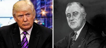 the uncanny similarities between president trump and fdr