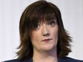 nicky morgan threatens to rebel against theresa may