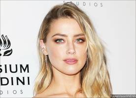 amber heard steps out in unzipped pants - new fashion trend?