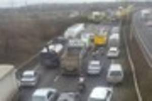 a13 crash: yodel driver appears in court accused of causing death...