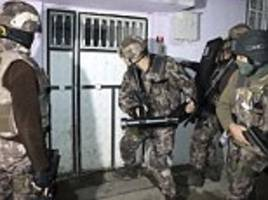400 isis suspects arrested in turkish anti-terror raids