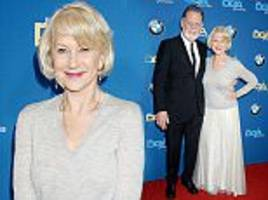 helen mirren showcases her classic style at the dga awards