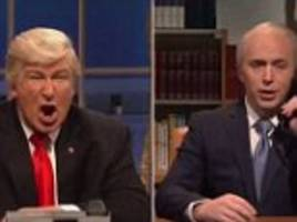 malcolm turnbull's phone call with trump mocked on snl