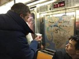 new yorkers removed swastikas from the subway
