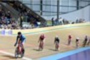 cycling: katie archibald leads  way in derby arena showpiece