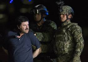 mexican drug lord 'el chapo' guzman complains about 23-hour lockdown and wife ban