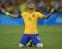 'i can't stop imagining how it would be to win a world cup' - neymar outlines brazil ambition