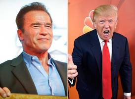 Arnie Wants To Swap Jobs With Trump. The Donald's Not Happy About It: