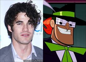 first look at darren criss as music meister on 'the flash' and 'supergirl' musical crossover