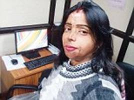 acid attack survivor mohini is now a 'face of bravery'