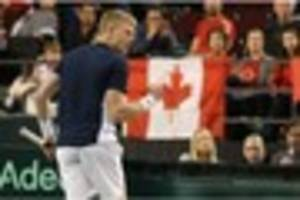 kyle edmund involved in davis cup win to remember as denis...