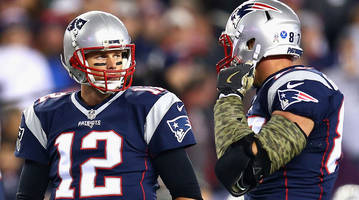 rob gronkowski:  'brady is the best ever hands down'