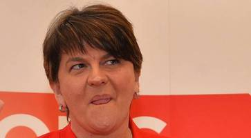foster dismisses irish language act as she claims a sinn fein first minister would push adams' agenda