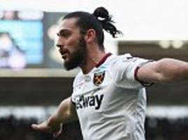 gareth southgate will check out west ham's andy carroll