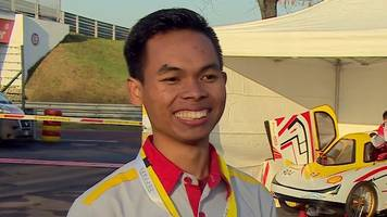 eco-car wins eight indonesian students their f1 dream