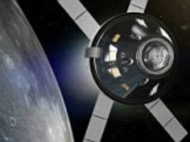 nasa and esa  manned mission around the moon in 2021