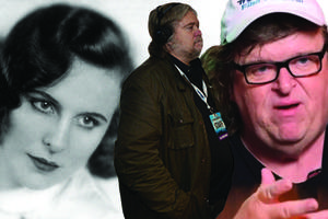steve bannon's ex-partner: michael moore and leni riefenstahl inspired his look, approach (exclusive)