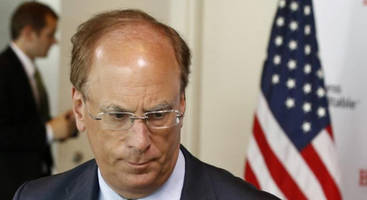 larry fink turns bearish: sees slowing economy, dark shadows in the market