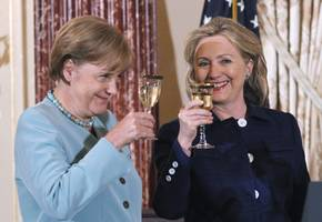 the clintons assisted goldman sachs, angela merkel in the greek financial crisis