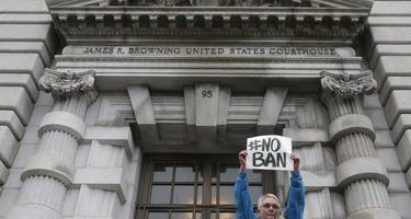 what the media thought of the trump travel ban hearing