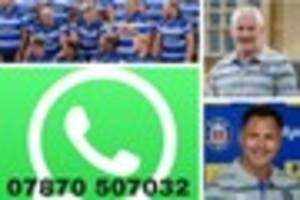 bath rugby: sign up to our free whatsapp group for all the latest...