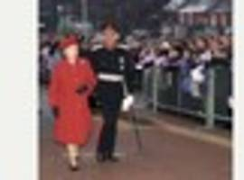 look back at the queen's visits to burton as she marks her...