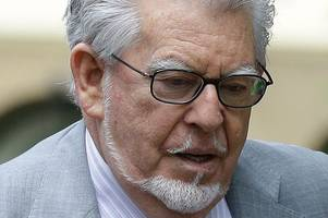 rolf harris cleared of three sex charges but could face retrial on four more