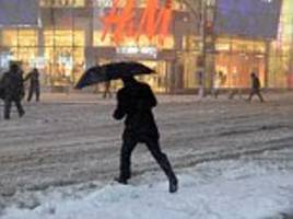 northeast hit by major snow storm