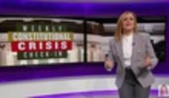 samantha bee celebrates cnn for letting jake tapper 'feast' on kellyanne conway