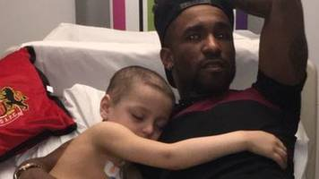 terminally ill bradley visited by sunderland players