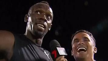 watch: bolt's team win nitro after disqualification