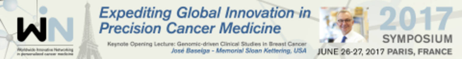 win 2017 symposium, expediting global innovation in precision cancer medicine