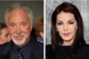 tom jones reportedly dating priscilla presley a year after his...