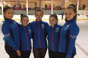 ice skating: east kilbride quintet to represent great britain in euro event