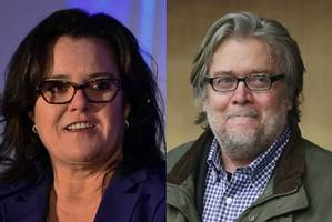 rosie o'donnell will not play steve bannon on 'snl' this weekend