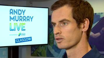 sir andy murray on taking roger federer sightseeing