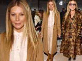 gwyneth paltrow and sarah jessica parker hit nyfw