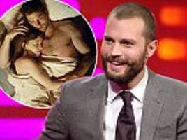 jamie dornan reflects on erotic fifty shades sex scenes
